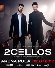 2Cellos - Arena Pula - 02.07.
