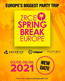 Zrće Spring Break Europe 2021 - 03./06.06.